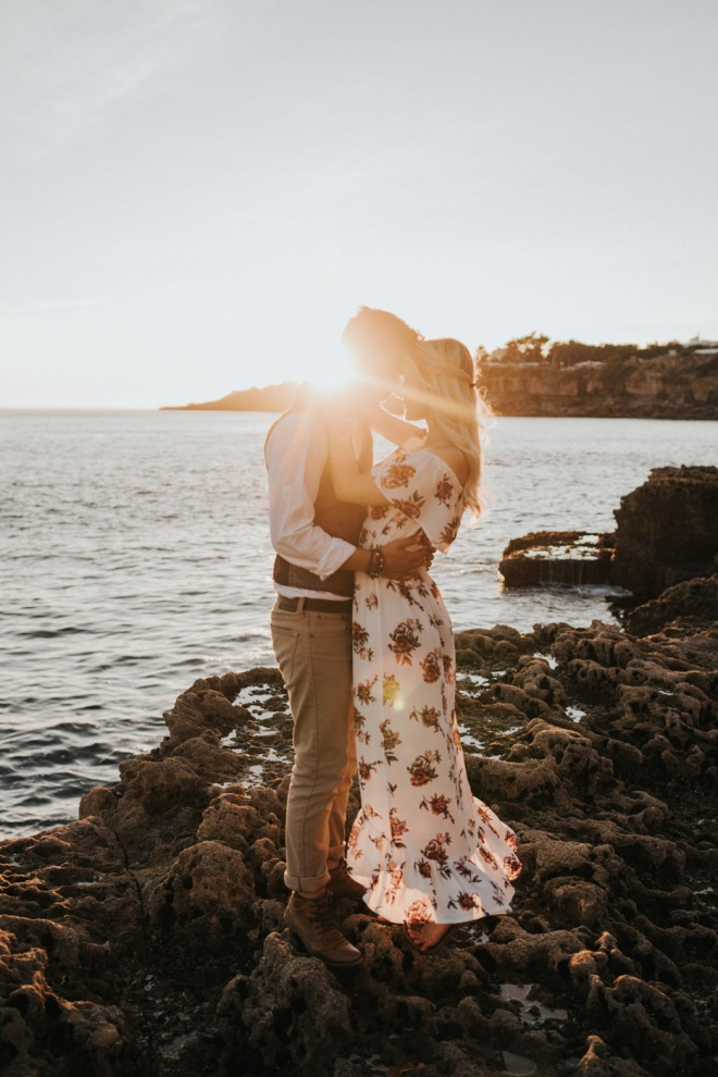 Hugo Portugal International Shooting Couple Sea Sunset 083-2